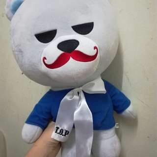 BIGBANG TOP JAPAN OFFICIAL 50cm KRUNK BEAR