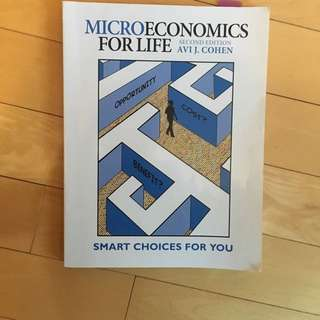 Microeconomics for Life - Cohen
