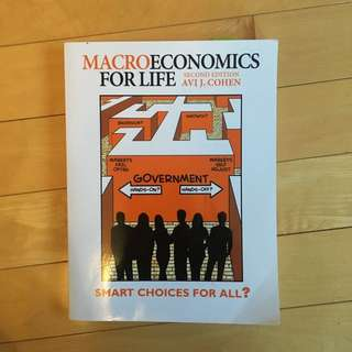 Macroeconomics for Life - Cohen