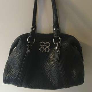 Authentic Coach purse in black!