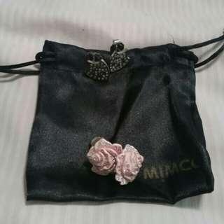 2 x Mimco earrings