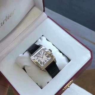Premium Collection :Santos de Cartier Lady Wristwatch, has always been very fond of Sandoz, good taste alone!