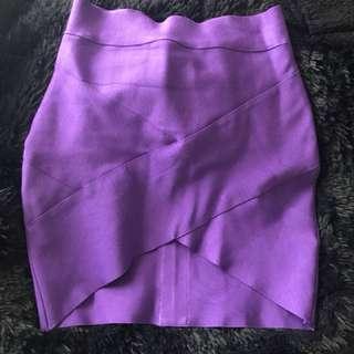 Purple Skirt Size 10