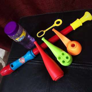 Toys R Us Bubbles 5in1 Set & PlayGo Flute Bundle