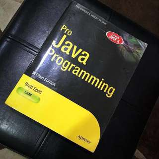 Pro Java Programming (Second Edition)