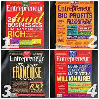 Entrepreneur Magazines (Get 6)