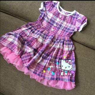 Hello Kitty Print Tutu Dress . Brand New Toddler Girl 2T/3T/4T/5T/6y