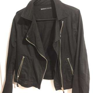Stradivarius Black Casual jacket