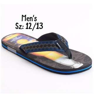 NWT Men's Corona Slippers Sz: 12-13