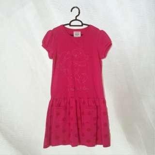 Bossini Toy Story Pink Dress