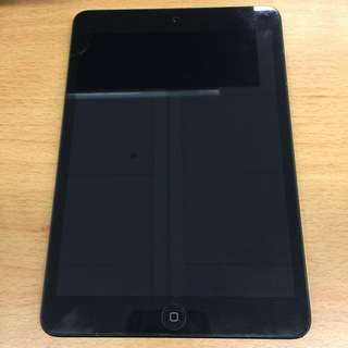 Apple Black iPad mini 1 16GB Slate Edition 黑色 WiFi 版 (model A1432)