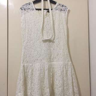 Paper Dolls Lace Dress | L