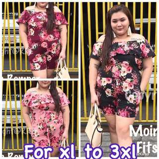 Moira jumpsuit  For xl to 3xl Retail : 320 Reseller:300