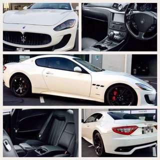 Maserati Granturismo for long term lease