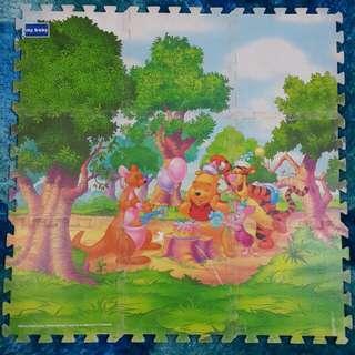 Disney Pooh Eva Foam Mat