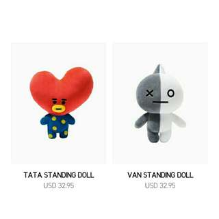 [NON PROFIT] BTS BT21 Standing Doll