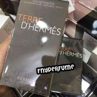 FRESH FROM THE BOX TERRE D HERMES