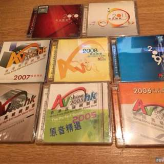 SACD AV show 2004-2011 8隻 95%新淨冇花