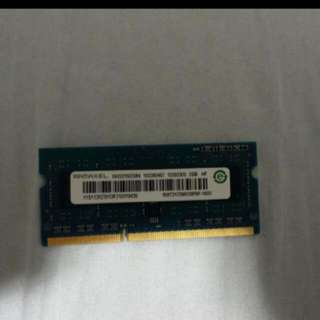 2GB Sodimm Ram x 1pc:WTS