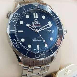 特價發售 OMEGA seamaster 陶瓷磚 98%新長期 放在夾萬 還有Rolex其他款式 有興趣可致電93737101