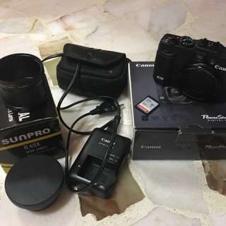 Canon G16 with freebies (price reduced)