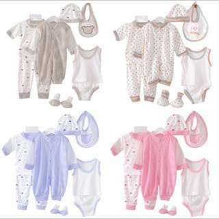 🎁[FREE Pos]Newborn Baby Set 8pcs