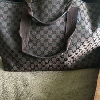 Authentic Gucci bag - large