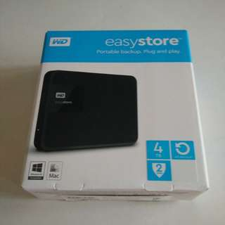 WD easystore 4TB