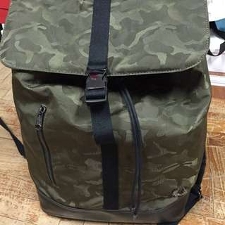 Fred Perry Haversack Rucksack Camo