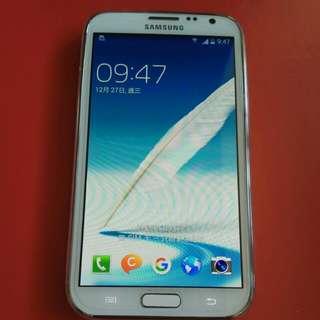 Samsung 三星 note2 GT-n7100