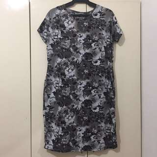 Floral Shift Dress | Free Size