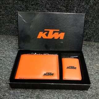 KTM Wallet & Key Pouch Gift Set
