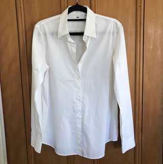 Uniqlo white shirt
