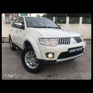 PAJERO SPORT 4WD 2.5(A) NO OFF ROAD