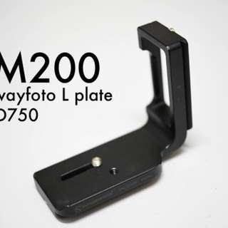 Sunwayfoto L bracket for Nikon D750