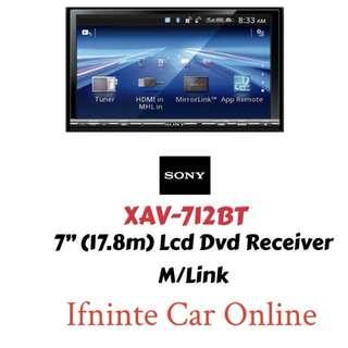 SONY XAV-712BT DVD 2DIN