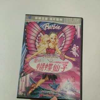 Barbie mariposa dvd
