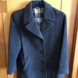 New Grey Wool Coat