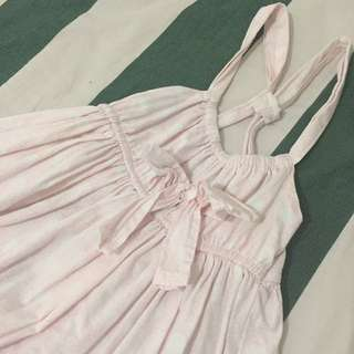 Cotton On Baby | Light Pink Dress | 12-18 Mos