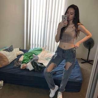 OneTeaSpoon Mom Jeans