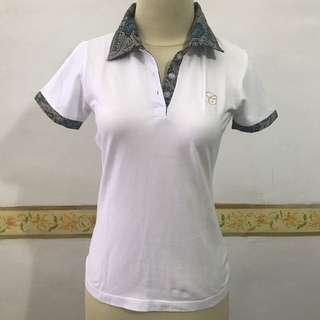 Batik Polo Top