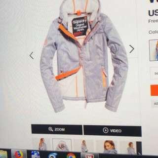 全新Superdry Hooded Sherpa SD-Windtrekker Jacket