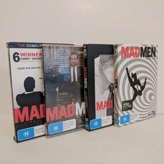 Mad Men, Season 1-4 DVD