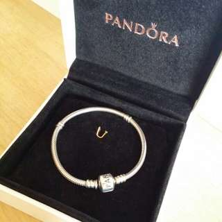 Authentic Original Pandora Bracelet with Box