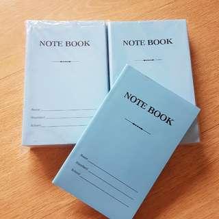10pcs/set BN Notebook line blue popular