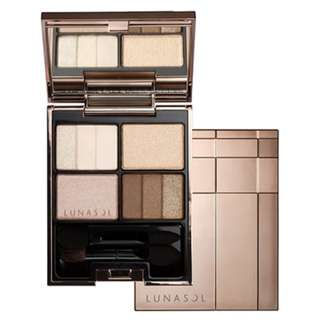 LUNASOL Three-Dimensional Eyes 4g (# 01 Neutral Beige)