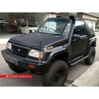Suzuki Vitara 1.6M JLX (COE till 04/2019)