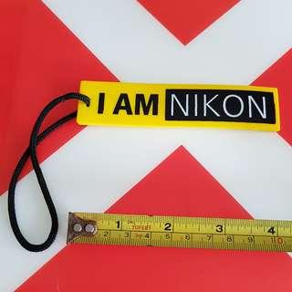 Nikon luggage bag tag