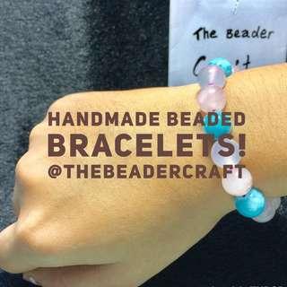 Handmade beaded bracelets with original designs, The Beader Craft