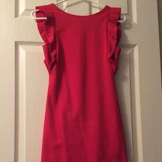 Zara red dress XS/S